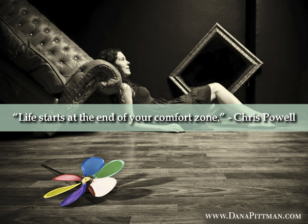 Comfort Zone on DanaPittman.com