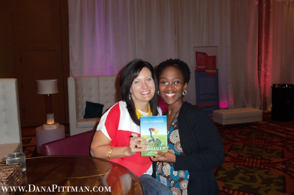 Dana Pittman and Lysa Terkeurst at She Speaks Conference 2012