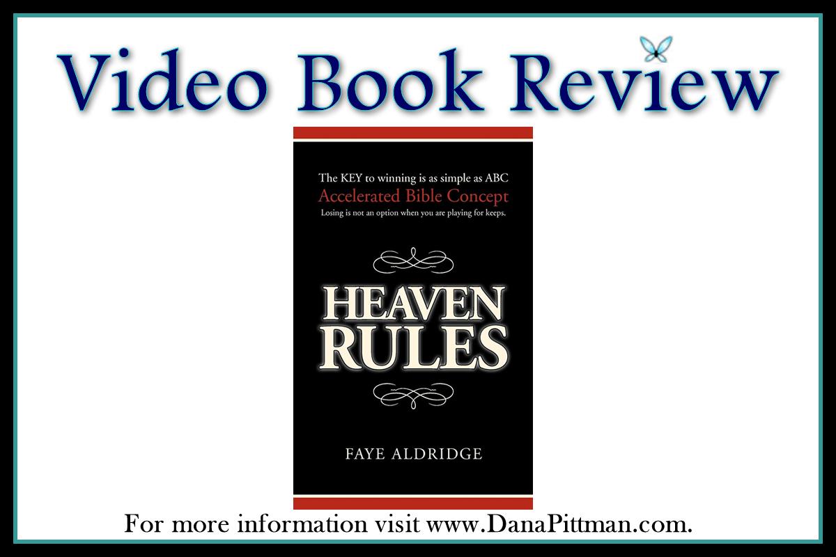 Video Book Review: Heaven Rules by Faye Aldridge