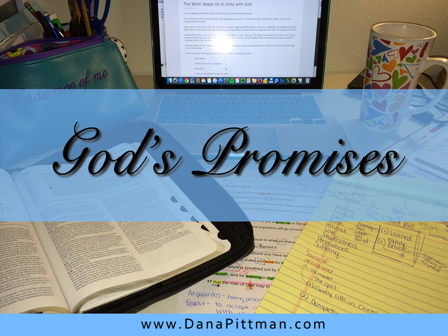 Day 4: God's Promises | DanaPittman.com