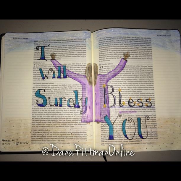 Day 6 - Advent Bible Journaling || DanaPittman.com